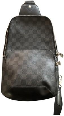 Louis Vuitton Avenue sling Anthracite Cloth Bags