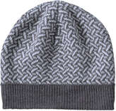 Joe Fresh Women's Jacquard Winter Hat, Grey Mix (Size O/S)