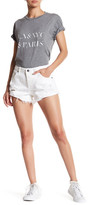 Sincerely Jules Stone Distressed Cutoff Short