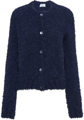 Prada Textured Knitted Cardigan