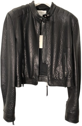 Ports 1961 Black Leather Jacket for Women