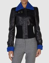 Just Cavalli Leather outerwear
