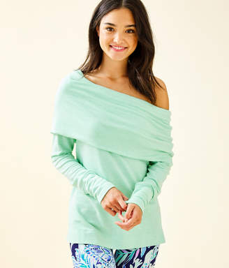 Lilly Pulitzer Belinda One-Shoulder Pullover
