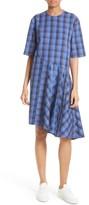 Public School Women's Rima Asymmetrical Plaid Cotton Dress