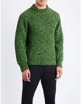 Calvin Klein Contrast Wool-blend Jumper