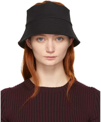 Rosetta Getty Black Bucket Visor Hat