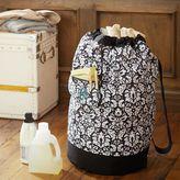 PBteen Black Damask Laundry Backpack