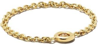 Zoë Chicco 14kt Yellow Gold Diamond Chain Ring