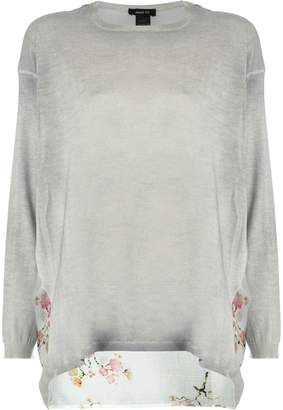 Avant Toi printed back sweater