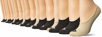 Sperry Women's Solid Striper Liner 6 Pair Socks
