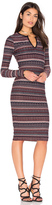 Twenty Division Stripe Dress