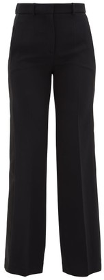 Joseph Morissey Side-stripe Cady Trousers - Black