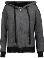 Current/Elliott Cotton-Blend Hooded Sweatshirt