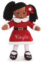 African American Santa Dress Doll in Red