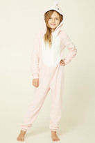 Forever 21 FOREVER 21+ Girls Plush PJ Jumpsuit (Kids)