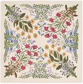 Gucci New Flora print wool silk shawl