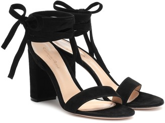 Gianvito Rossi Exclusive to Mytheresa Gaia 85 suede sandals