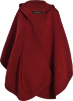 Burberry Pr Carla Hooded Knitted poncho