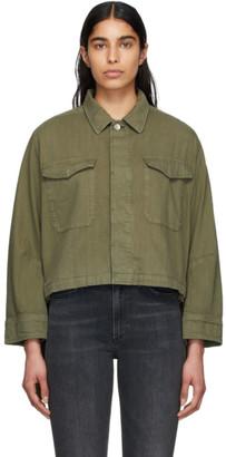 Rag & Bone Green Swingback Jacket