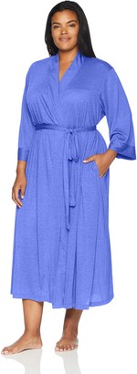 N Natori Women's Plus-Size Congo Robe