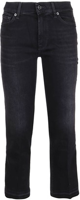 7 For All Mankind Cropped Boot Unrolled Slim Illusion Universe