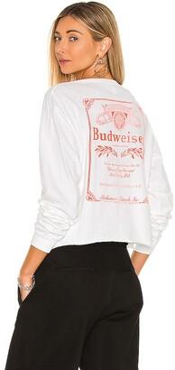 Junk Food Clothing Budweiser Long Sleeve Crew Tee