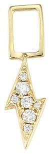Robinson Pelham EarWish 14K Yellow Gold & Diamond Lightning Bolt Single Earring Charm
