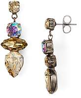 Sorrelli Stacked Stone Drop Earrings