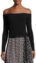 Rag & Bone Kari Ribbed Off-the-Shoulder Pullover