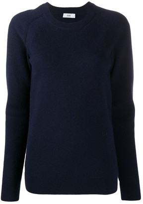 Closed Wool-cashmere Blend Fine Knit Crew-neck Sweater