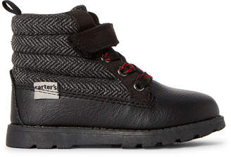 Carter's Toddler Boys) Black Copa Ankle Boots