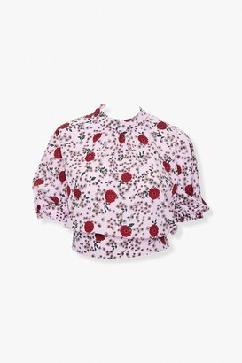 Forever 21 Plus Size Floral Print Top