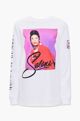Forever 21 Selena Long-Sleeve Graphic Tee