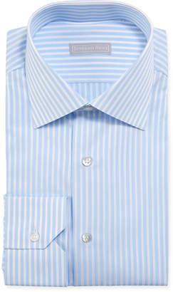 Stefano Ricci Men's Candy Stripe Dress Shirt