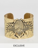 Reclaimed Vintage Inspired Beetle Cuff