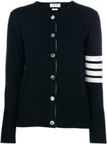 Thom Browne knitted long sleeved cardigan