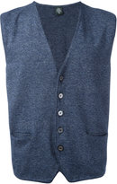 Eleventy sleeveless cardigan - men - Cotton - M