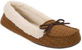 Dearfoams Women's Multi Fabrication Moccasin Slipper