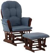 Stork Craft Storkcraft Hoop Custom Upholstery Glider and Ottoman Fabric