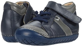 Old Soles Line Pave (Infant/Toddler) (Navy/Grey) Boy's Shoes