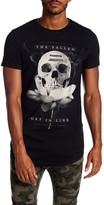Religion Lotus Skull Crew Neck Tee