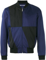 Kenzo block panel bomber jacket
