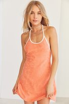 BDG Tara Terry Halter Mini Dress