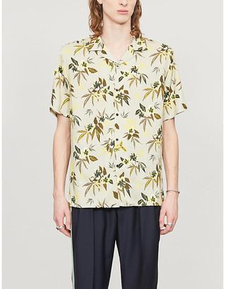 The Kooples Sport Floral-print woven shirt