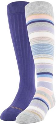 Gold Toe Girls 7-11 GOLDTOE 2-Pack Knee High Socks