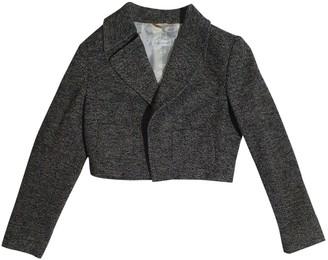 Bogner Grey Wool Jacket for Women