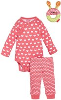 Skip Hop Pop Prints 3-Piece Gift Set (Baby) - Watermelon-3-6 Months