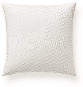 Ralph Lauren Keagan Chevron Silk Square Pillow