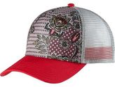 Prana La Viva Trucker Hat - Women's Cosmo Pink Fleur D'amour One Size