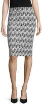 Liz Claiborne Knit Pencil Skirt - Tall